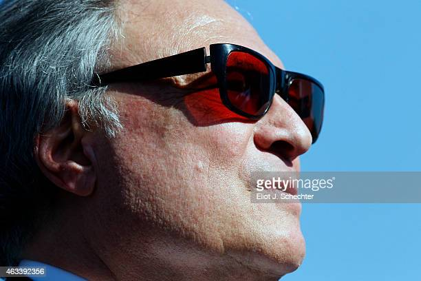 Miami Marlins owner Jeffrey Loria during the press conference announcing the Miami Marlins will host the 2017 Major League Baseball Game at Marlins...