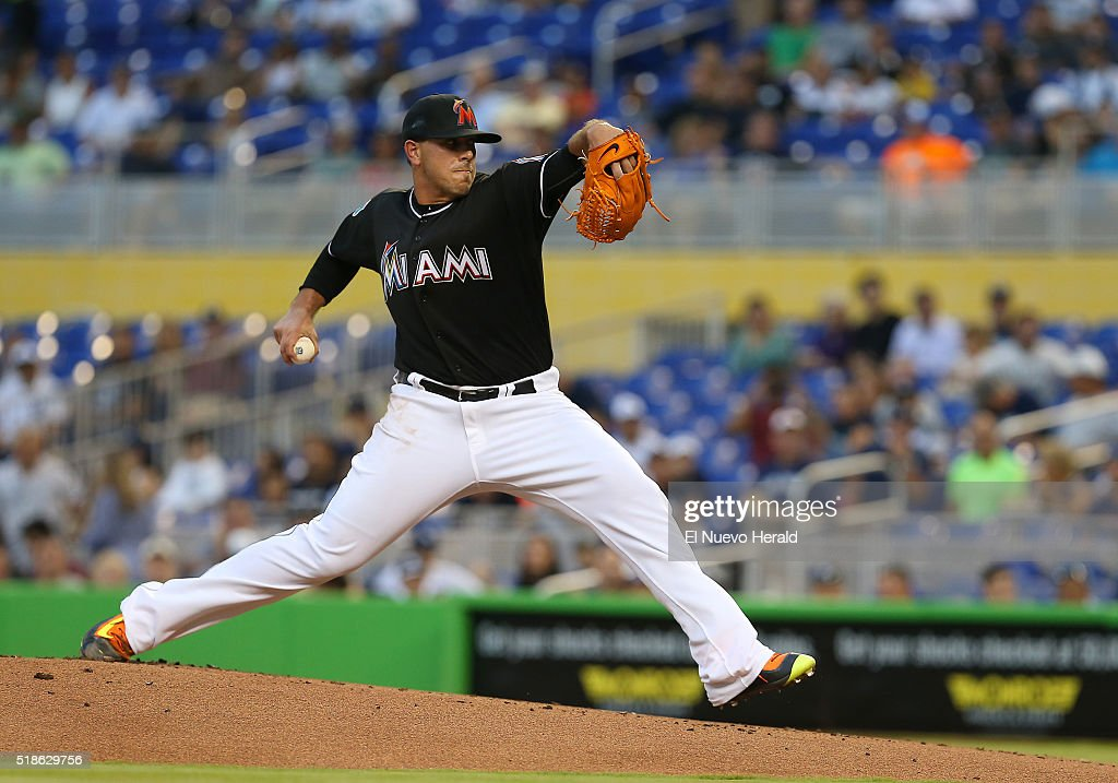 Jose Fernandez - Baseball Pitcher | Getty Images Jose Fernandez Pitching