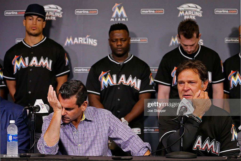 Miami Marlins News Conference
