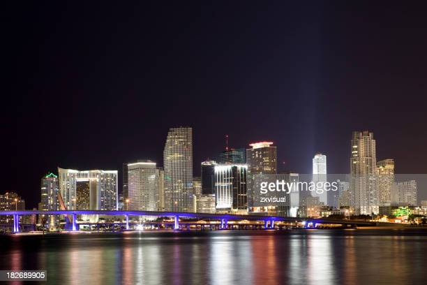 Miami Nights Skyline