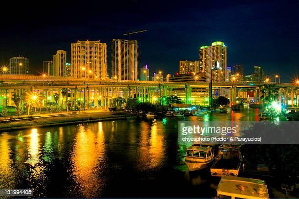 Miami River, I-95, Downtown Miami