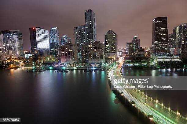 Miami Skyline at Night