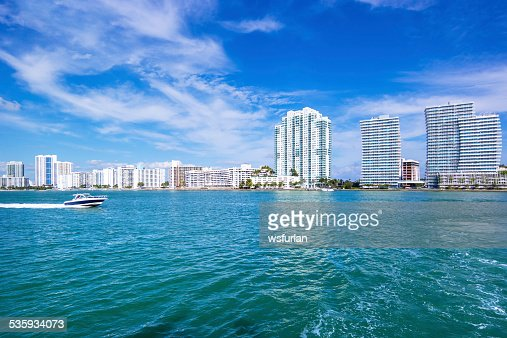 Miami skyline : Stock Photo