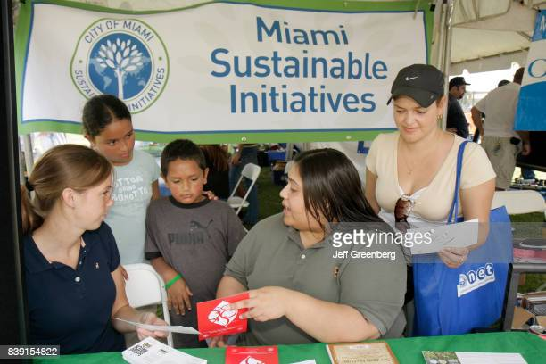 Miami sustainable initiatives exhibit at Miami River day