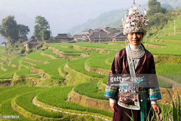 Miao Minority Girl