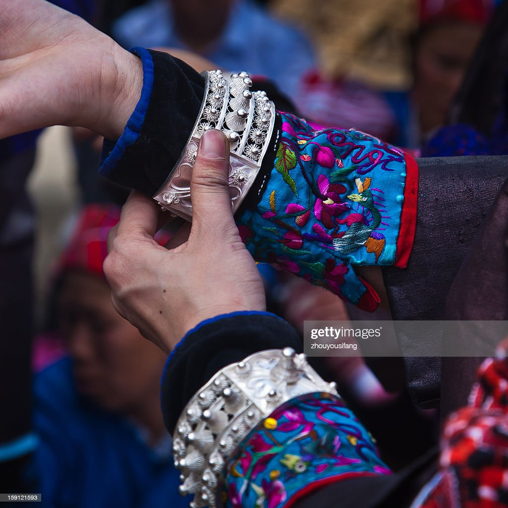 Miao nationality finery - bracelet