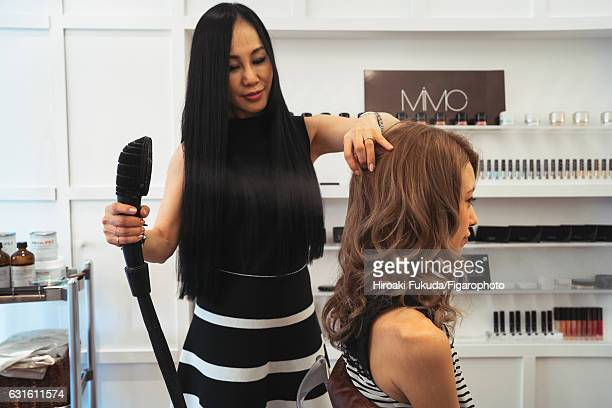 Mica Amata Hair Spa owner is photographed for Madame Figaro on October 20 2016 in Tokyo Japan PUBLISHED IMAGE CREDIT MUST READ Hiroaki...