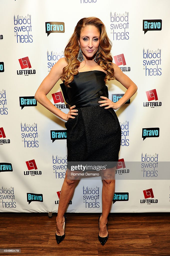 Mica Hughes attends the season premiere of 'Blood, Sweat and Heels' at Kristalbelli on December 10, 2013 in New York City.