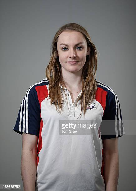 Mica McNeill of Great Britain poses for a picture during the GB Bobsleigh End of Season Media day at Wembley Stadium on March 14 2013 in London...