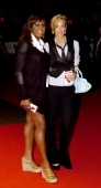 Mica Paris and Lisa Butcher during 'The Devil Wears Prada' London Gala Screening at Odeon Leicester Square in London Great Britain