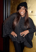 Mica Paris attends the launch of King Of Shaves new 'Hyperglide' razor at Sketch on January 16 2014 in London England