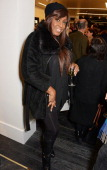 Mica Paris attends the launch of the Amanda Wakeley London flagship store on January 30 2014 in London England