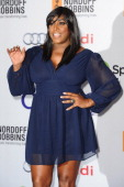 Mica Paris attends the Nordoff Robbins 02 Silver Clef awards at London Hilton on July 4 2014 in London England