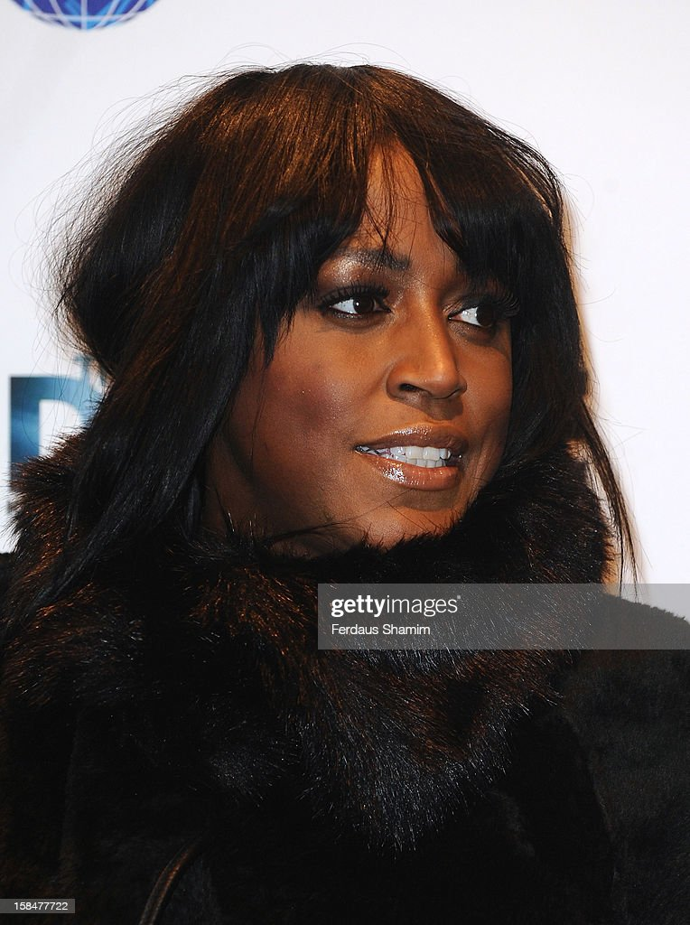 Mica Paris attends the UK Film Premiere of 'The Double' on December 17, 2012 in London, England.