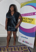 Mica Paris attends the World Pride Power List party held at Corinthia Hotel at Corinthia Hotel London on June 27 2014 in London England