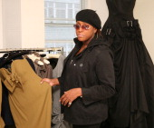 Mica Paris during Gail Berry shows her new collection to Mica Paris at Sanderson Hotel in London Great Britain