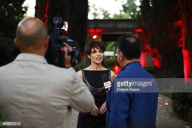 Micaela Ramazzotti attends Ciak D'Oro 2017 at Link Campus University on June 8 2017 in Rome Italy