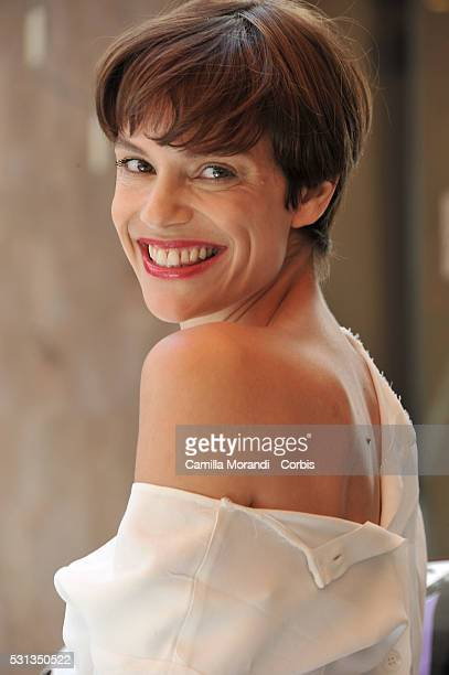 Micaela Ramazzotti attends 'La Pazza Gioia' Photocall prior to the 69th annual Cannes Film Festival on May 14 2016 in Cannes France