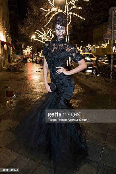 Micaela Schaefer attends the Gloeoeckler Magazine Launch on December 11 2014 in Berlin Germany