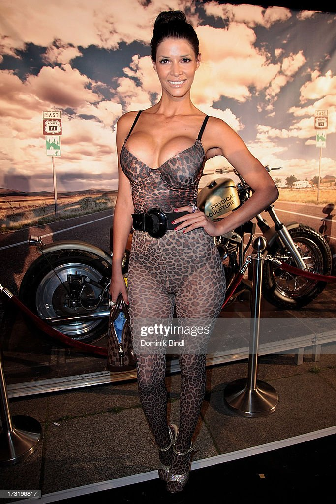 <a gi-track='captionPersonalityLinkClicked' href=/galleries/search?phrase=Micaela+Schaefer&family=editorial&specificpeople=2629683 ng-click='$event.stopPropagation()'>Micaela Schaefer</a> attends the summer party at P1 on July 9, 2013 in Munich, Germany.
