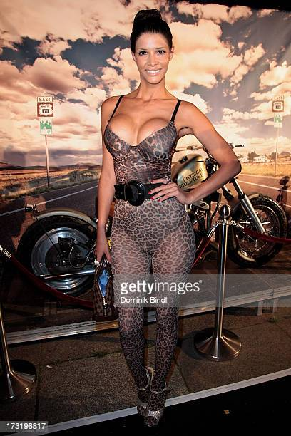 Micaela Schaefer attends the summer party at P1 on July 9 2013 in Munich Germany