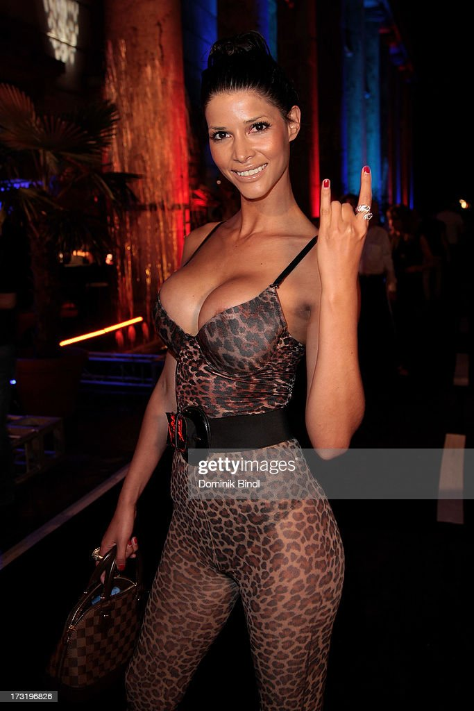 Micaela Schaefer attends the summer party at P1 on July 9, 2013 in Munich, Germany.