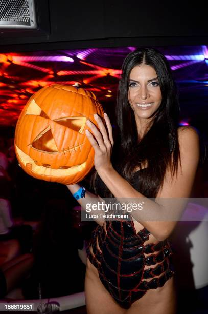 Micaela Schaefer Celebrates Her 30th Birthday at the Club Perl on November 1 2013 in Berlin Germany