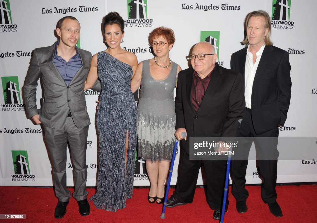 Micah Hauptman, Annika Marks, Judi Levine, Ben Lewin, Stephen Nemeth arrive at the 16th Annual Hollywood Film Awards Gala presented by The Los Angeles Times held at The Beverly Hilton Hotel on October 22, 2012 in Beverly Hills, California.