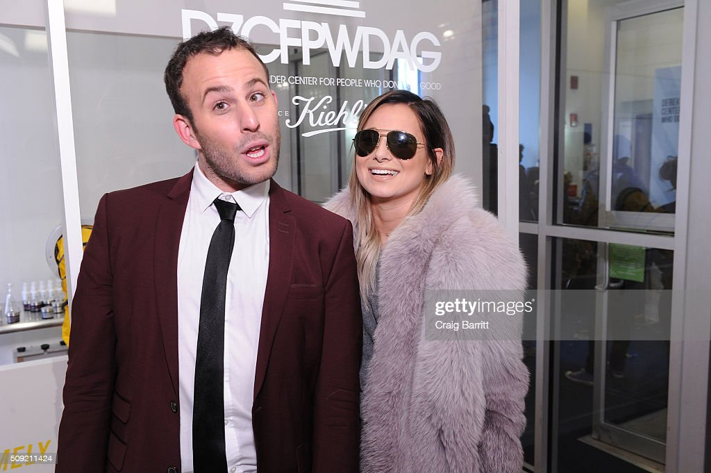 <a gi-track='captionPersonalityLinkClicked' href=/galleries/search?phrase=Micah+Jesse&family=editorial&specificpeople=4838538 ng-click='$event.stopPropagation()'>Micah Jesse</a> and Danielle Bernstein attend Kiehl's Zoolander Center Opening on February 9, 2016 in New York City.