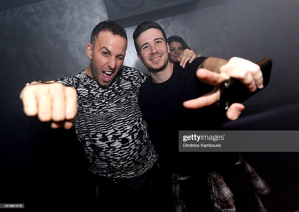 Micah Jesse and Vinny Guadagnino attend the Grand Opening of Avalon Mohegan Sun on November 23, 2013 in Uncasville City.