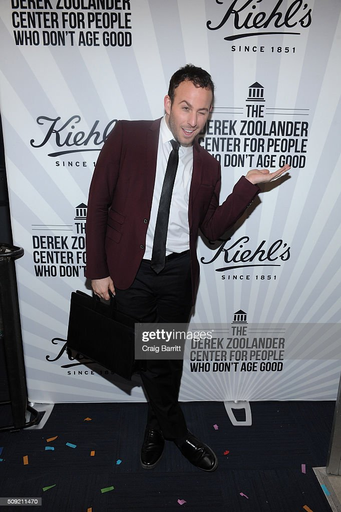 <a gi-track='captionPersonalityLinkClicked' href=/galleries/search?phrase=Micah+Jesse&family=editorial&specificpeople=4838538 ng-click='$event.stopPropagation()'>Micah Jesse</a> attends Kiehl's Zoolander Center Opening on February 9, 2016 in New York City.