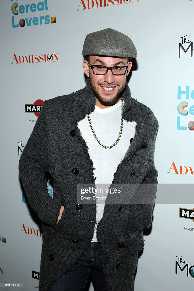 Micah Jesse attends the Moms and MARTINI celebrate Tina Fey and release of her new film, 'Admission' at Disney Screening Room on March 5, 2013 in New York City.