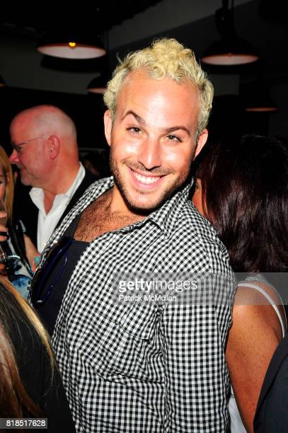 Micah Jesse attends The Target Kaleidoscopic Fashion Spectacular Lights up New York City at The Standard on August 18 2010 in New York City