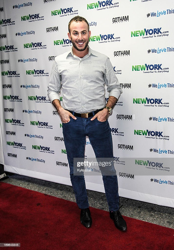 Micah Jessie attends the NewYork.com Launch Party at Arena on May 29, 2013 in New York City.
