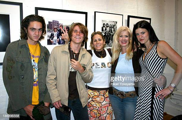 Micah Nelson Luke Nelson Annie Nelson Susan Hathaway and Jessica Blachley