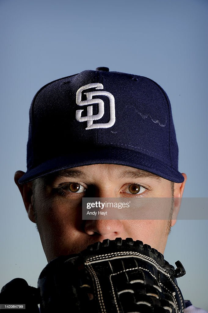 Micah Owings #27 of the San Diego Padres poses on photo day on February 27, 2012 at the Peoria Sports Complex in Peoria, Arizona.