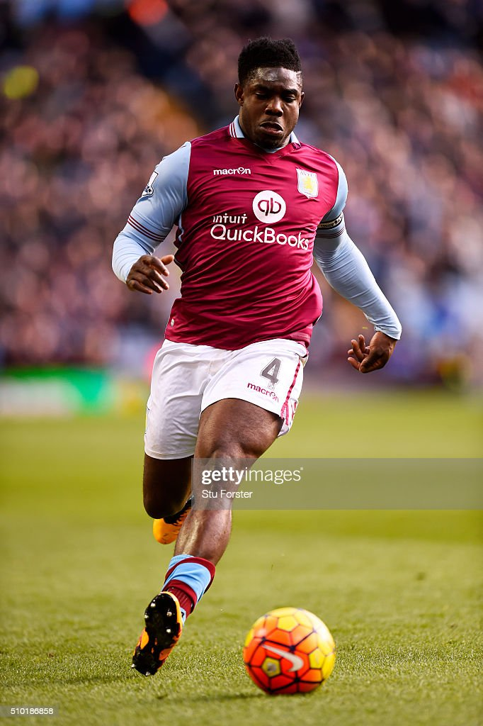 <a gi-track='captionPersonalityLinkClicked' href=/galleries/search?phrase=Micah+Richards&family=editorial&specificpeople=647038 ng-click='$event.stopPropagation()'>Micah Richards</a> of Aston Villa runs with the ball during the Barclays Premier League match between Aston Villa and Liverpool at Villa Park on February 14, 2016 in Birmingham, England.