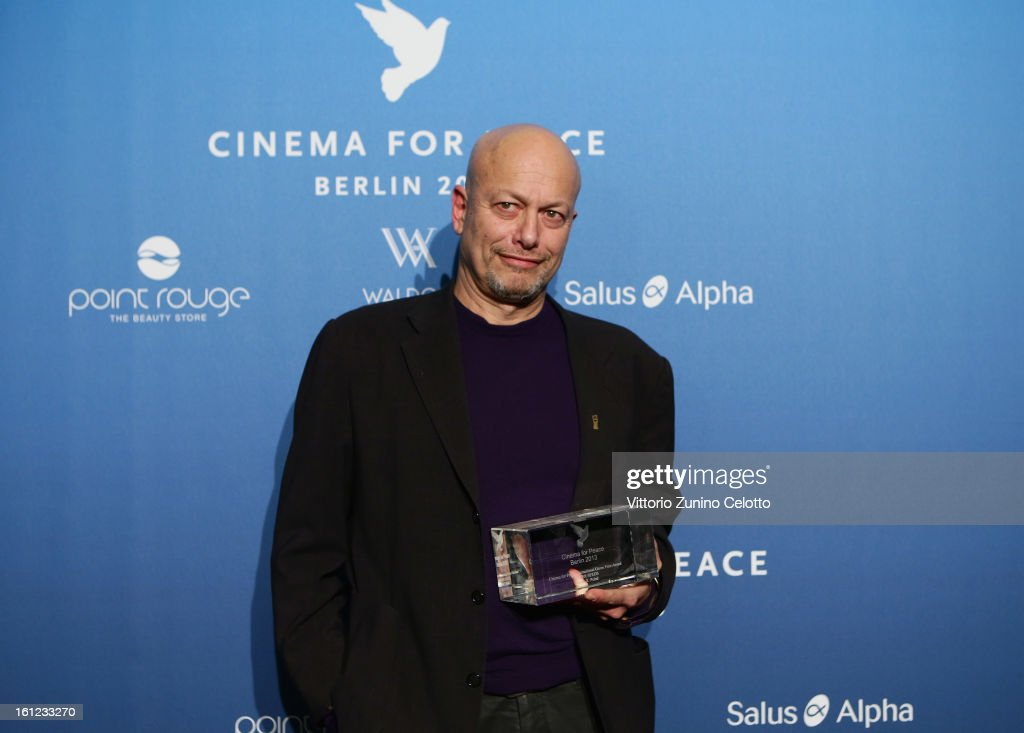 Micha X. Peled during the Cinema For Peace Gala Ceremony at the 63rd Berlinale International Film Festival at the Waldorf Astoria Hotel on February 9, 2013 in Berlin, Germany.