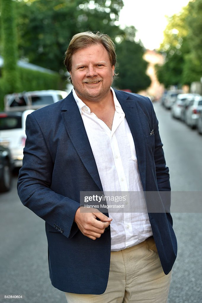 Michael A. Grimm during the ARD Degeto Get Together during the Munich Film Festival 2016 at Kaisergarten on June 24, 2016 in Munich, Germany.
