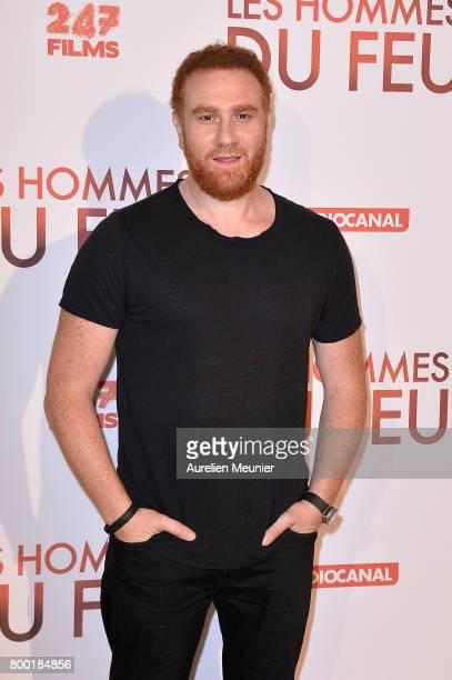 Michael Abiteboul attends the 'Les Hommes du feu' Paris premiere at Cinema Pathe Beaugrenelle on June 23 2017 in Paris France