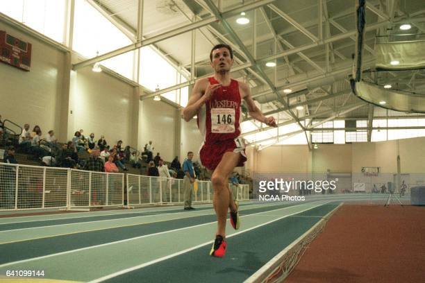 Michael Aish from Western State left the competition behind in the 5K during the Division II Men's and Women's Indoor Track Championship held at the...