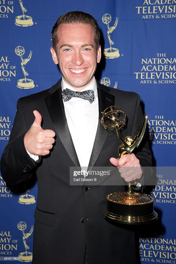 <a gi-track='captionPersonalityLinkClicked' href=/galleries/search?phrase=Michael+Allen&family=editorial&specificpeople=662312 ng-click='$event.stopPropagation()'>Michael Allen</a> attends the Daytime Creative Arts Emmy Awards Gala at the Westin Bonaventure Hotel on June 20, 2014 in Los Angeles, California.