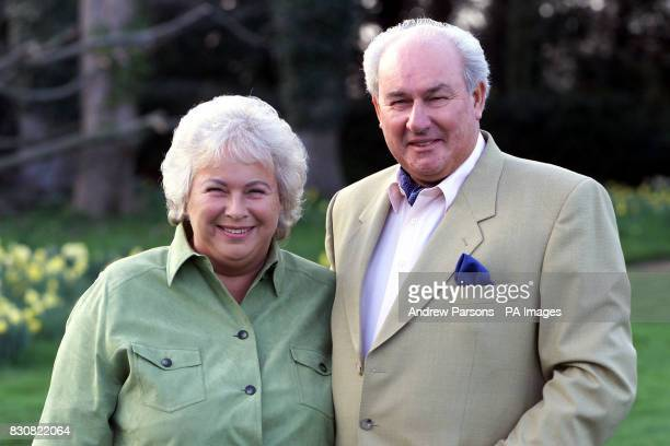 Michael and his wife Gill Rockall From Ditchingham Suffolk Mr Rockfall brought letters and Christmas cards written by Princess Diana letters which...