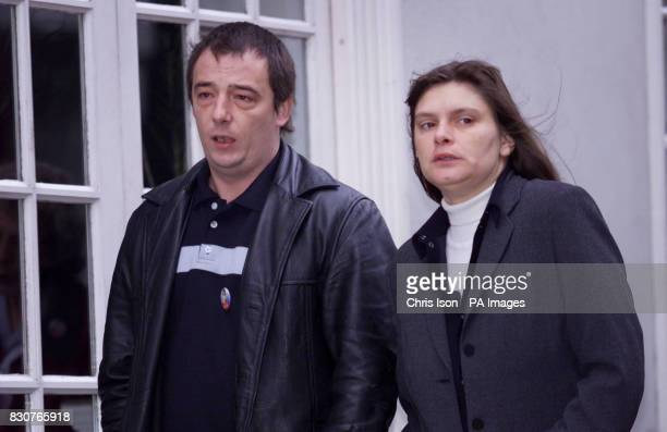 Michael and Sara Payne arrive at Lewes Crown Court in East Sussex for the trial of Roy Whiting who is charged with the abduction and murder of their...