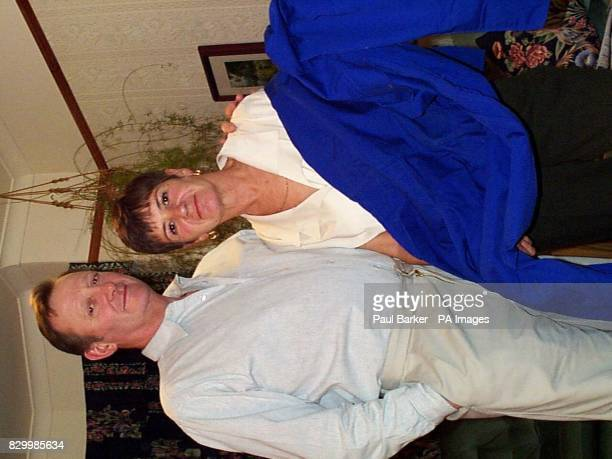 Michael and Susan Delancey smile for the media today after Susan was awarded 4000 in damages after she developed an asbestosrelated condition after...