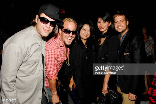Michael Anderson Micah Jesse Susan Shin Mia Morgan and Joey Hodges attend Richie Rich 2011 Fashion Show at The Studio at Lincoln Center on September...