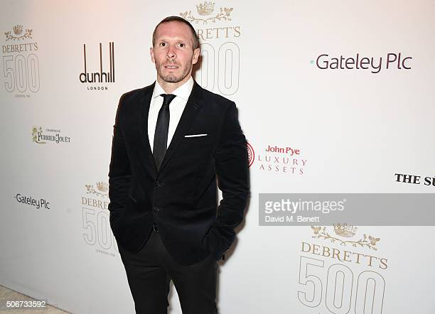 Michael Appleton attends Debrett's 500 party hosted at Rosewood London on January 25 2016 in London England Debrett's 500 recognises the most...
