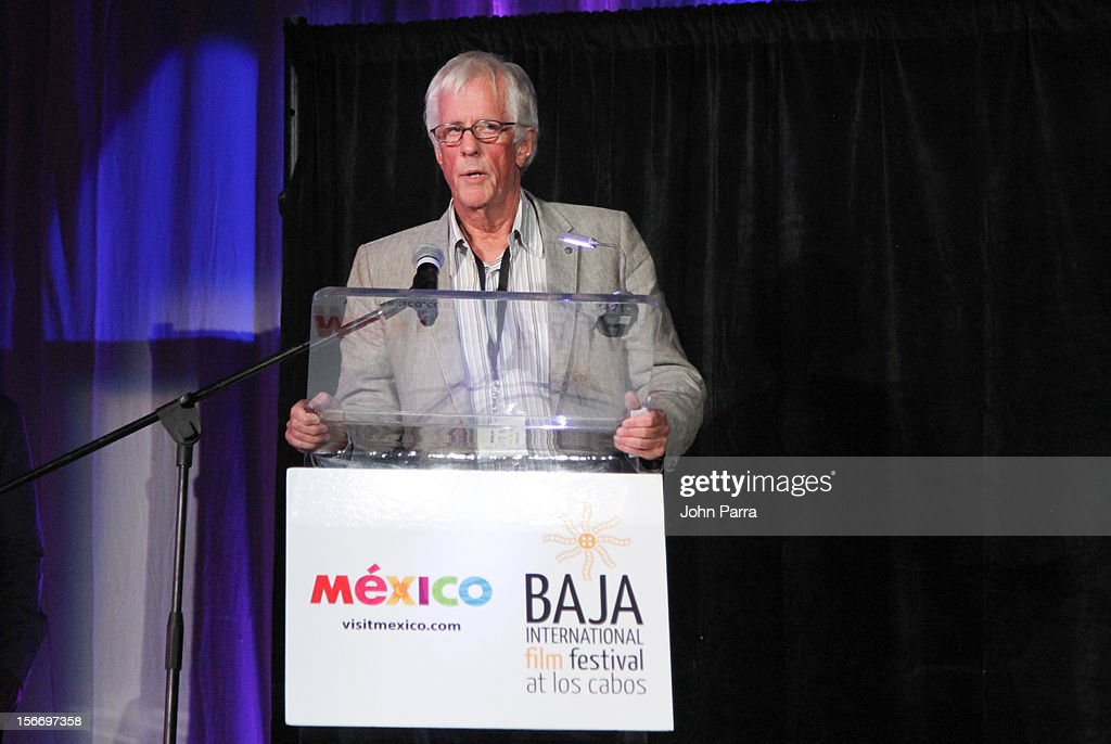 Michael Apted attends the Closing Night Gala during the Baja International Film Festival at Los Cabos Convention Center on November 17, 2012 in Cabo San Lucas, Mexico.
