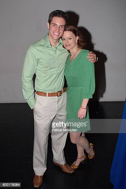 Michael Apuzzo and Annmaria Mazzini attend PAUL TAYLOR DANCE Hosts Cocktails for YOUNG PATRONS at 552 Broadway on November 11 2008 in New York City