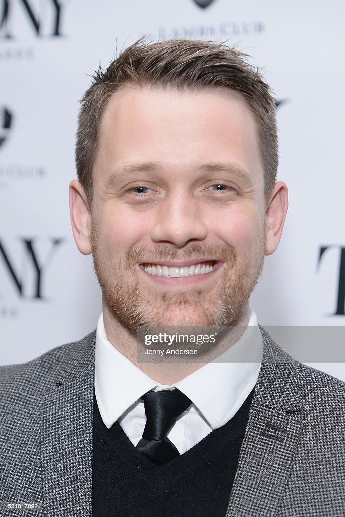 Michael Arden arrives at A Toast To The 2016 Tony Awards Creative Arts Nominees at The Lambs Club on May 24, 2016 in New York City.